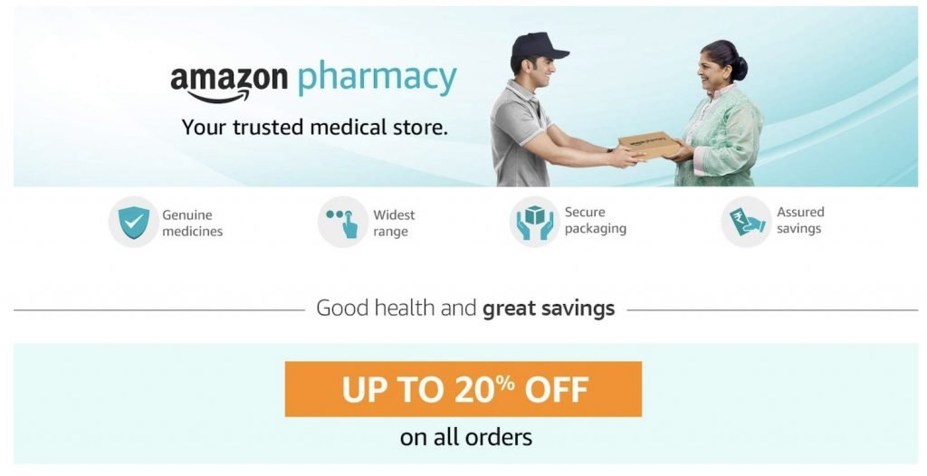Amazon launches online pharmacy in India – yay!